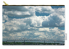 Arthur Kill And Outerbridge Crossing Carry-all Pouch
