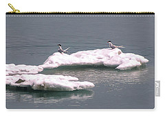 Arctic Terns On A Bergy Bit Carry-all Pouch