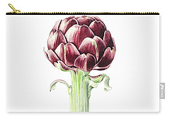 Artichoke From Roman Market Carry-all Pouch by Alison Cooper