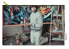 Artist In His Studio Carry-all Pouch