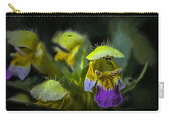 Carry-all Pouch featuring the photograph Artistic Hover by Leif Sohlman