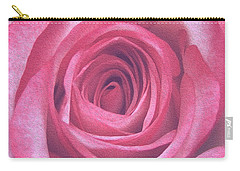 Artistic Red Rose Carry-all Pouch
