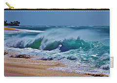 Artistic Wave Carry-all Pouch by Craig Wood