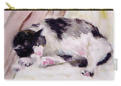 Artist's Cat Sleeping Carry-all Pouch
