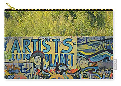 Artists Run The Planet Carry-all Pouch
