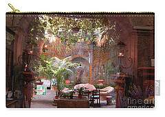 Artists' Studio In Sorrento Italy  Carry-all Pouch