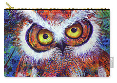 Artprize #3 Hooter Carry-all Pouch