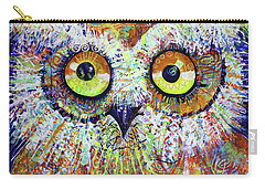 Artprize You That's Hoo Audience Participation Carry-all Pouch