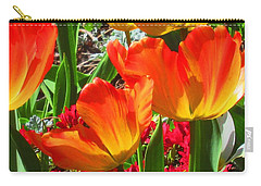 Artsy Tulips Carry-all Pouch