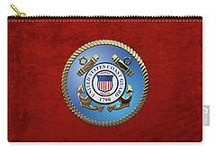 U. S. Coast Guard - U S C G Emblem Carry-all Pouch