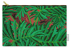 philodendron pictures - Lizard Leaves Carry-all Pouch