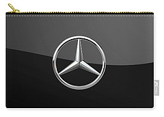 Mercedes-benz - 3d Badge On Black Carry-all Pouch