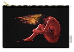 In Flame Carry-all Pouch