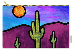 Desert Stained Glass Carry-all Pouch