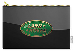 Land Rover - 3d Badge On Black Carry-all Pouch