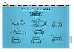 Porsche 911 Patent Carry-all Pouch