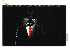 Mobster Cat Carry-all Pouch