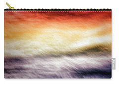 Palette In The Sky Carry-all Pouch by Bill Kesler