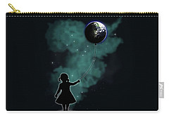 The Girl That Holds The World Carry-all Pouch