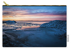 Carry-all Pouch featuring the photograph Break Up by Bill Kesler