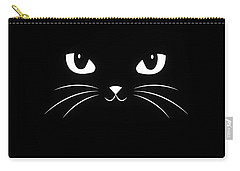 Black Cat Carry-All Pouches