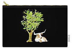 A Texas Welcome Texas Longhorn Lh005 Carry-all Pouch