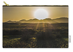 Chupadera National Recreation Trail Carry-all Pouch by Bill Kesler