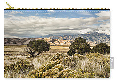 Great Sand Dunes National Park And Preserve Carry-all Pouch by Bill Kesler