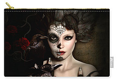 Darkside Sugar Doll Carry-all Pouch by Shanina Conway