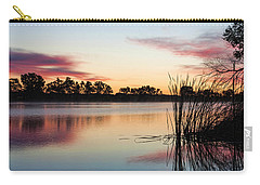 Brady In The Morning Carry-all Pouch by Bill Kesler