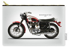 Triumph Bonneville 1970 Carry-all Pouch by Mark Rogan