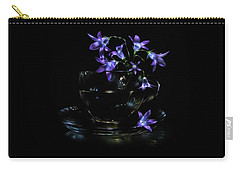 Carry-all Pouch featuring the photograph Bluebells by Alexey Kljatov