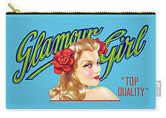 1945 California Glamour Girl  Carry-all Pouch