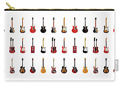 Guitar Icons No1 Carry-all Pouch by Mark Rogan