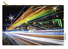 Carry-all Pouch featuring the photograph Light Trails 1 by Nicklas Gustafsson