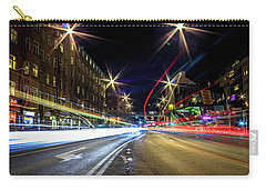 Carry-all Pouch featuring the photograph Light Trails 2 by Nicklas Gustafsson