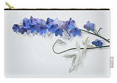 Carry-all Pouch featuring the painting Consolida by Ivana Westin