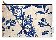 Blue Oriental Vintage Tile 04 Carry-all Pouch