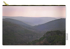 Carry-all Pouch featuring the photograph Rolling Hill Country by Felipe Adan Lerma