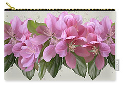 Carry-all Pouch featuring the painting Pink Blossoms by Ivana Westin