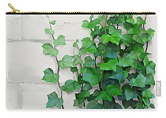 Carry-all Pouch featuring the painting Vines By The Wall by Ivana