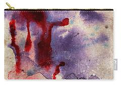 Purple Color Splash Carry-all Pouch