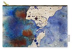 Blue Color Splash Carry-all Pouch