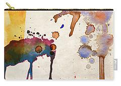 Multicolor Splash Carry-all Pouch