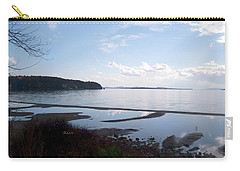 Carry-all Pouch featuring the photograph Rock Point North View Horizontal by Felipe Adan Lerma
