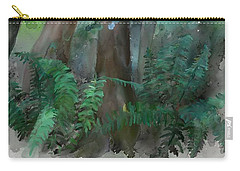 Carry-all Pouch featuring the painting Jungle by Ivana Westin