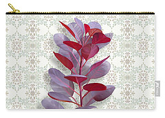 Carry-all Pouch featuring the painting Royal Purple by Ivana Westin