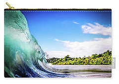 Carry-all Pouch featuring the photograph Tropical Wave by Nicklas Gustafsson