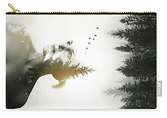 Carry-all Pouch featuring the photograph Soul Of Nature by Nicklas Gustafsson