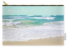 Carry-all Pouch featuring the photograph The Ocean by Sharon Mau